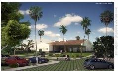 Casa Club, vista desde aparcamiento