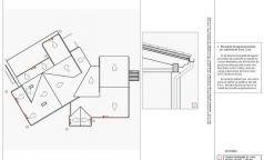 Casa Club, distribución planta de cubiertas