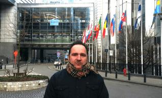 Ignacio García en Bruselas