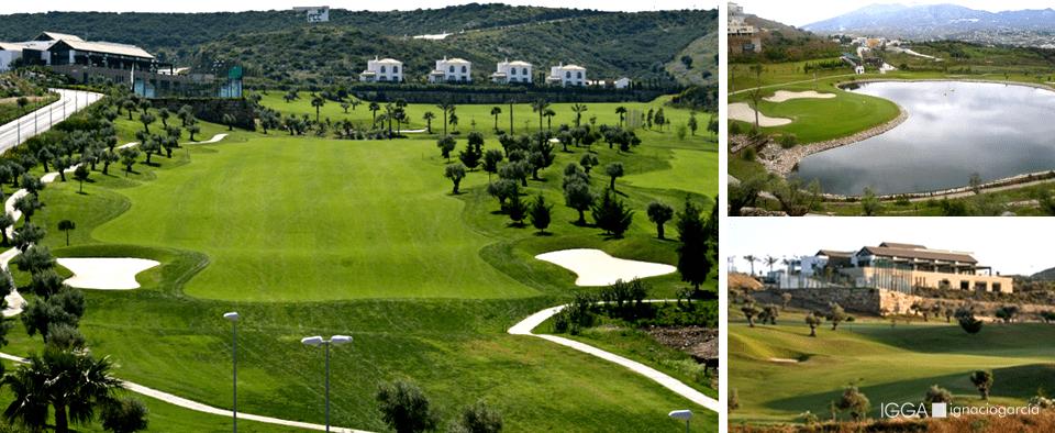 Campo de golf diseñado por Ignacio García IGGA