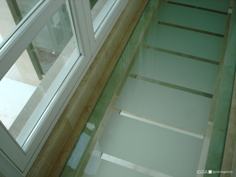 Pasarela interior