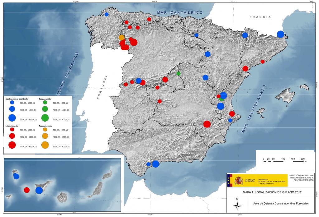 Mapa localización de GIF 2012
